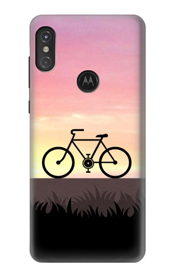 Printed Bicycle Sunset Motorola One Power (P30 Note) Case