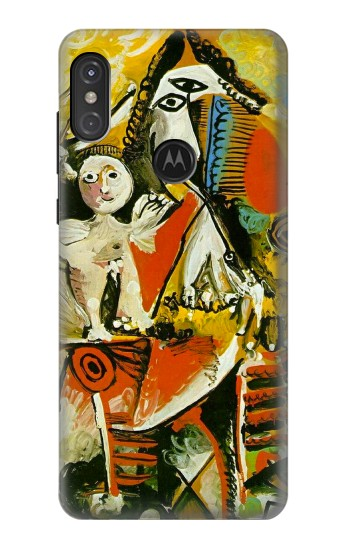 Printed Picasso Painting Cubism Motorola One Power (P30 Note) Case