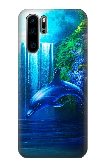 Printed Dolphin Huawei P30 Pro Case
