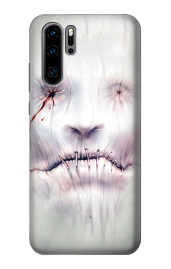 Printed Horror Face Huawei P30 Pro Case