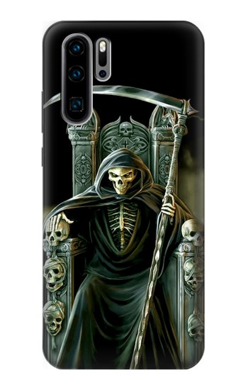 Printed Grim Reaper Skeleton King Huawei P30 Pro Case