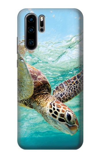 Printed Ocean Sea Turtle Huawei P30 Pro Case