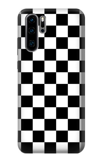 Printed Checkerboard Chess Board Huawei P30 Pro Case