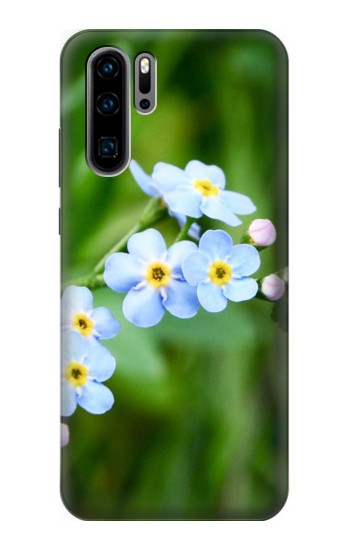 Printed Forget Me Not Huawei P30 Pro Case