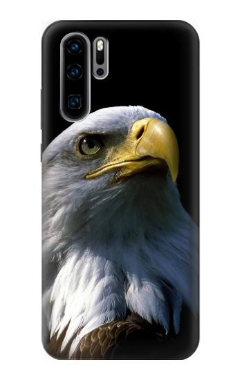 Printed Bald Eagle Huawei P30 Pro Case