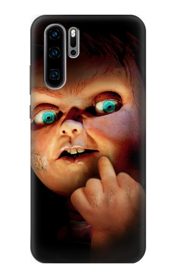 Printed Chucky Middle Finger Huawei P30 Pro Case