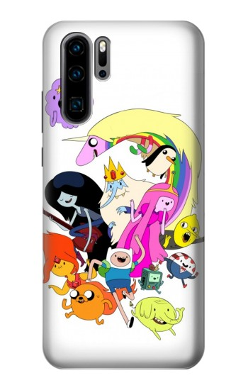 Printed Adventure Time Charactors Huawei P30 Pro Case
