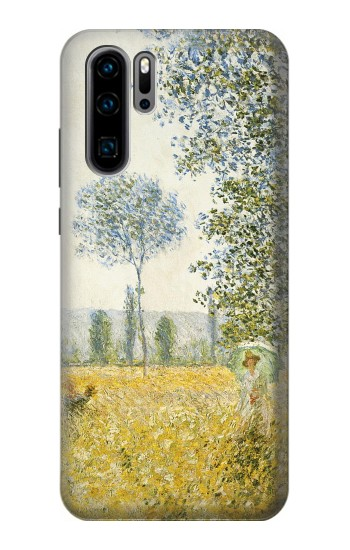 Printed Claude Monet Fields In Spring Huawei P30 Pro Case