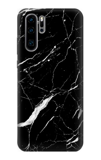 Printed Black Marble Graphic Printed Huawei P30 Pro Case