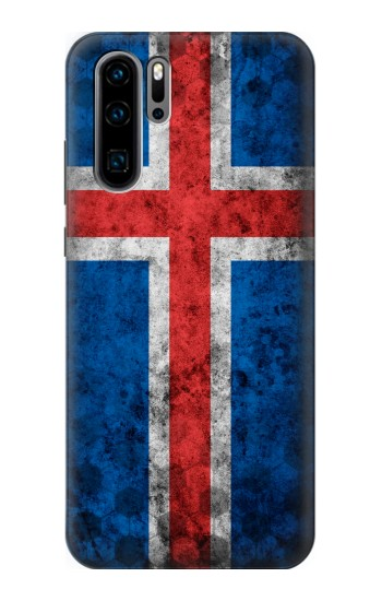 Printed Iceland Football Flag Huawei P30 Pro Case