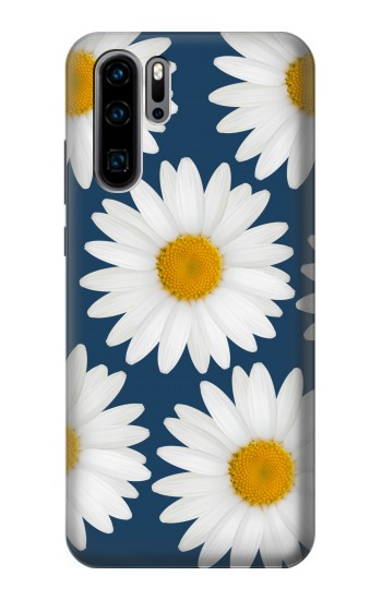 Printed Daisy Blue Huawei P30 Pro Case