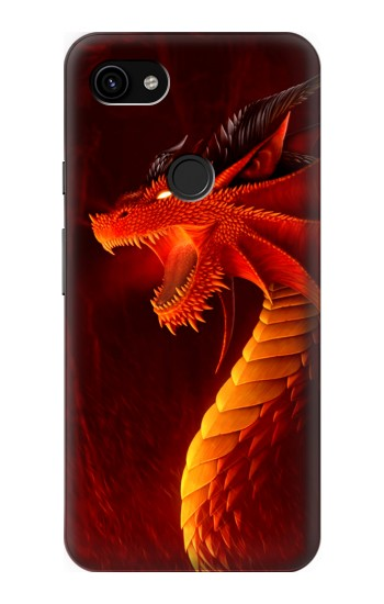 Printed Red Dragon Google Pixel 3a XL Case