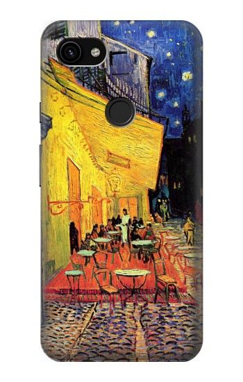 Printed Van Gogh Cafe Terrace Google Pixel 3a XL Case