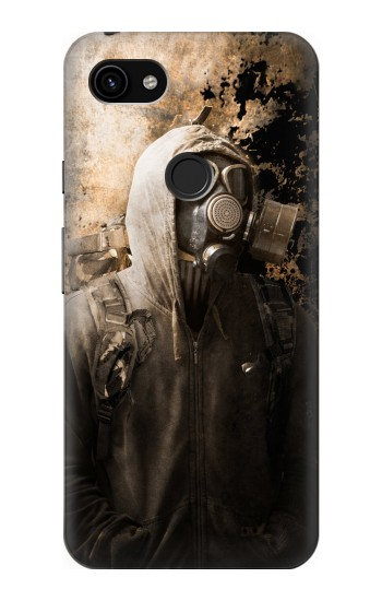 Printed Gas Mask Stalker Google Pixel 3a XL Case