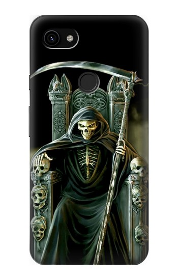 Printed Grim Reaper Skeleton King Google Pixel 3a XL Case