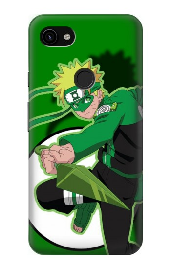 Printed Naruto Green Google Pixel 3a XL Case