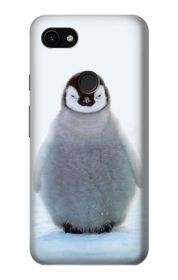 Printed Penguin Ice Google Pixel 3a XL Case