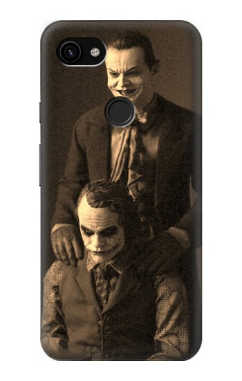Printed Jokers Together Google Pixel 3a XL Case