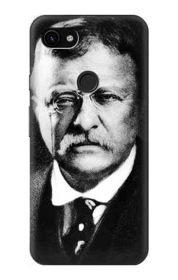 Printed Theodore Roosevelt Google Pixel 3a XL Case