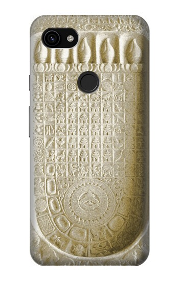 Printed Historical Buddha Footprint Google Pixel 3a XL Case