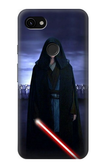 Printed Anakin Skywalker Star Wars Google Pixel 3a XL Case