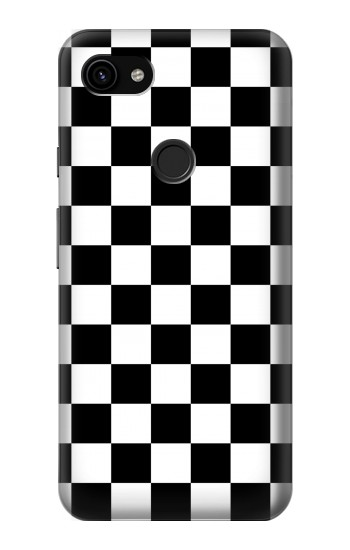 Printed Checkerboard Chess Board Google Pixel 3a XL Case
