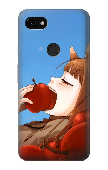 Printed Spice and Wolf Horo Google Pixel 3a XL Case