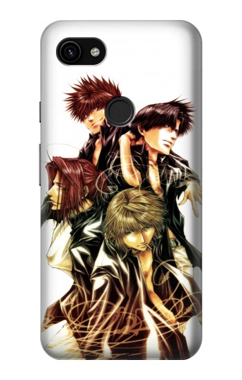 Printed Saiyuki Sanzo Party Google Pixel 3a XL Case