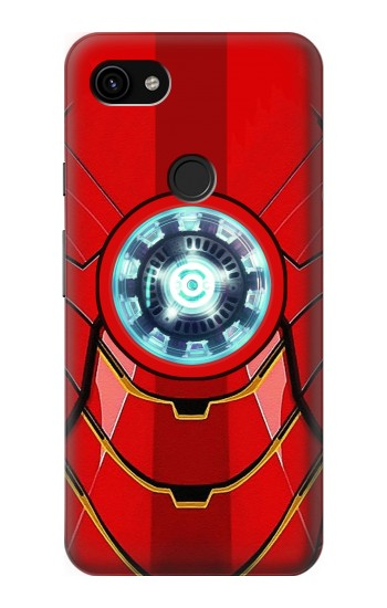 Printed Ironman Armor Arc Reactor Graphic Printed Google Pixel 3a XL Case