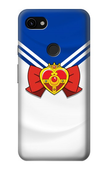 Printed Sailor Moon Brooch and Bow Google Pixel 3a XL Case