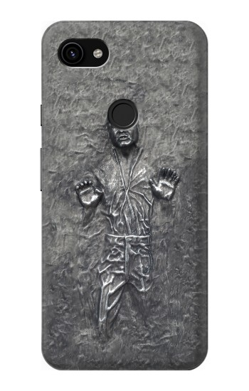 Printed Han Solo in Carbonite Google Pixel 3a XL Case