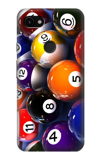 Printed Billiard Pool Ball Google Pixel 3a XL Case