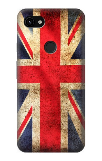 Printed British UK Vintage Flag Google Pixel 3a XL Case