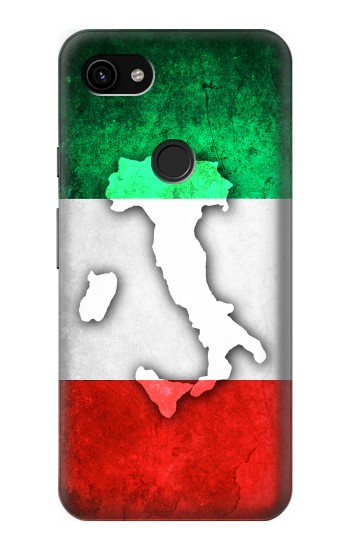 Printed Italy Flag Google Pixel 3a XL Case