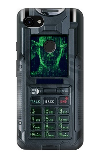 Printed The Matrix Mobile Phone Graphic Printed Google Pixel 3a XL Case
