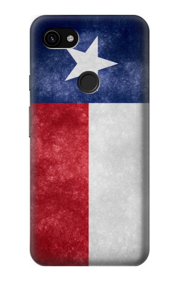 Printed Texas Retro Flag Google Pixel 3a XL Case