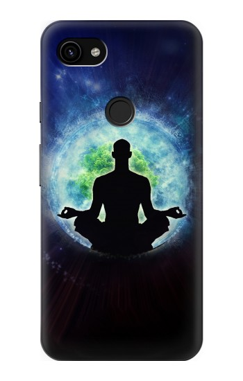 Printed Yoga Nature Universe Google Pixel 3a XL Case