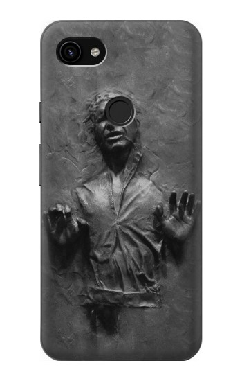 Printed Han Solo Frozen in Carbonite Google Pixel 3a XL Case