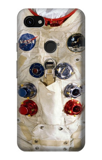 Printed Neil Armstrong White Astronaut Spacesuit Google Pixel 3a XL Case