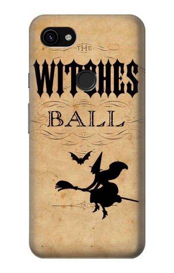 Printed Vintage Halloween The Witches Ball Google Pixel 3a XL Case