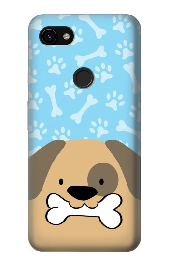 Printed Cute Dog Cartoon Google Pixel 3a XL Case