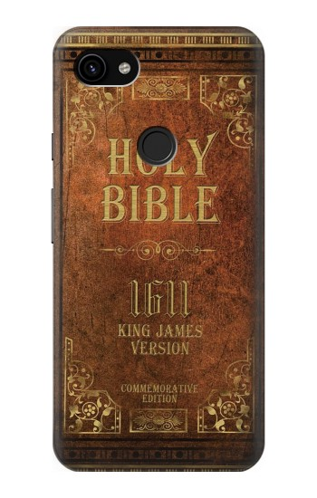 Printed Holy Bible 1611 King James Version Google Pixel 3a XL Case