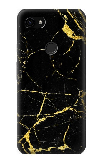 Printed Gold Marble Graphic Printed Google Pixel 3a XL Case