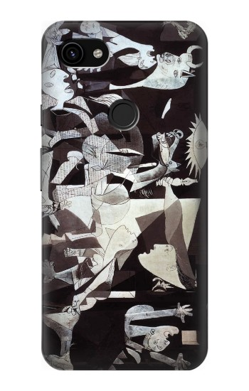 Printed Picasso Guernica Original Painting Google Pixel 3a XL Case