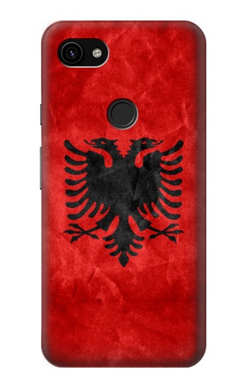 Printed Albania Red Flag Google Pixel 3a XL Case