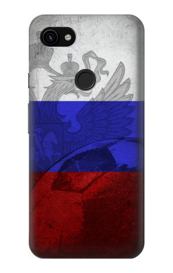 Printed Russia Football Flag Google Pixel 3a XL Case
