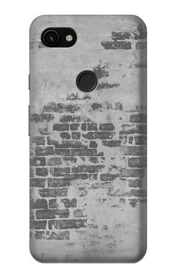 Printed Old Brick Wall Google Pixel 3a XL Case