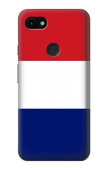 Printed Flag of France and the Netherlands Google Pixel 3a XL Case