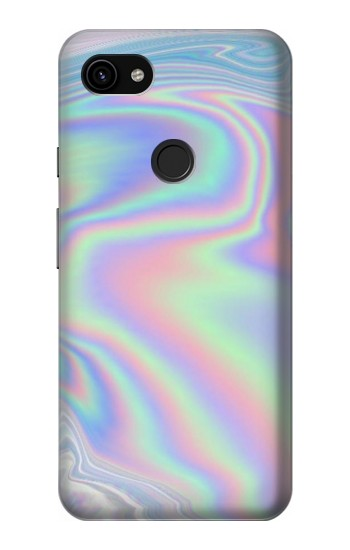 Printed Pastel Holographic Photo Printed Google Pixel 3a XL Case