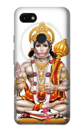 Printed Lord Hanuman Chalisa Hindi Hindu Google Pixel 3a XL Case